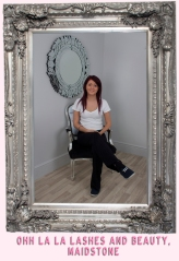 Congratulations Oh lala lashes you won a louis salon chair!