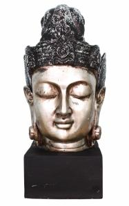 Buddha head cutout (401x640)