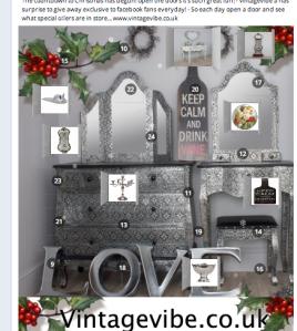 Facebook advent calendar