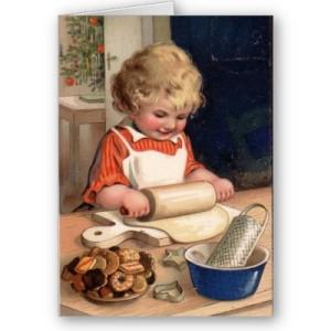 vintage_christmas_girl_baking_cookies_card-p137742883738355248bfzif_400