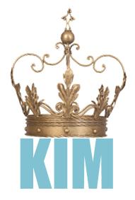kim gold crown
