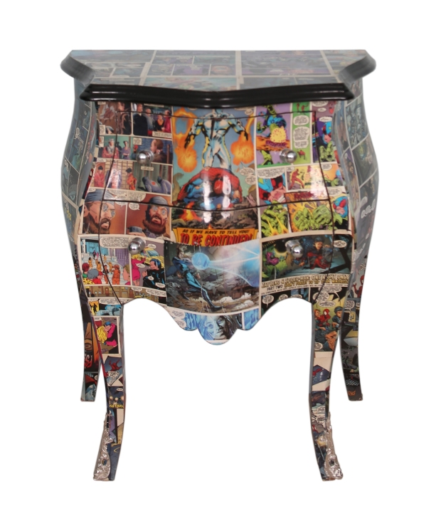 comic book bombe chest