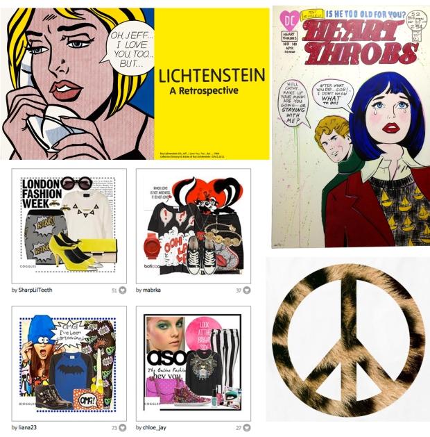 pop art spread