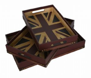 union jack trays