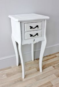 shabby chic bedside
