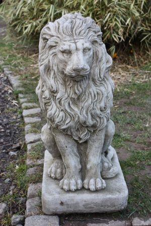 ... Large Classical Lion Garden Statue Ornament 10451 P[
