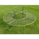 circular-green-metal-tree-bench-vintage-classic-design-8172-p[ekm]300x300[ekm]
